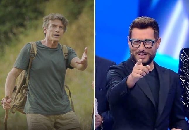 Alessio Boni (Sul Tetto del Mondo) vs Enrico Papi (Scherzi a Parte)