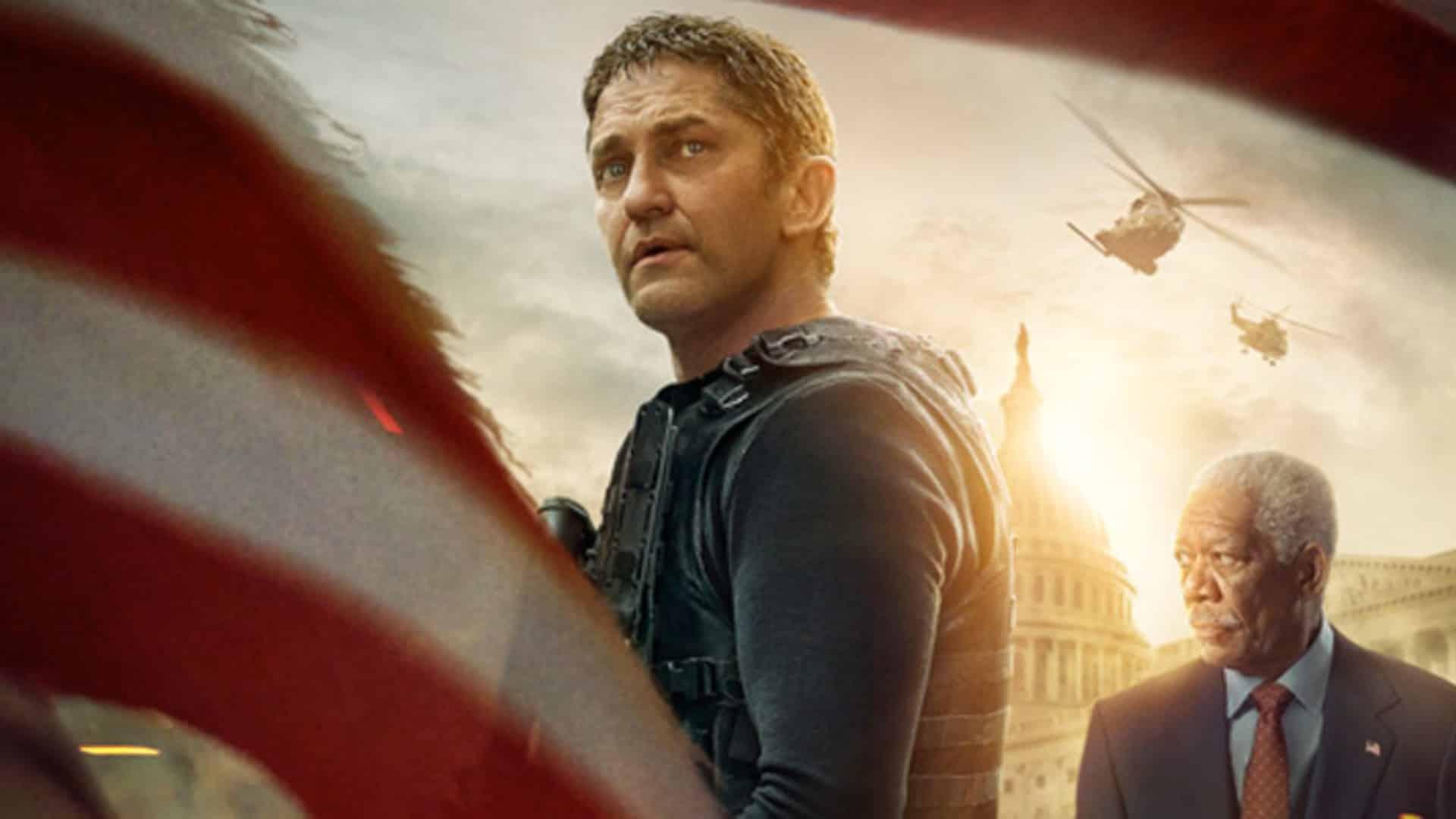Attacco al potere 3 - Angel Has Fallen - Gerard Butler e Morgan Freeman