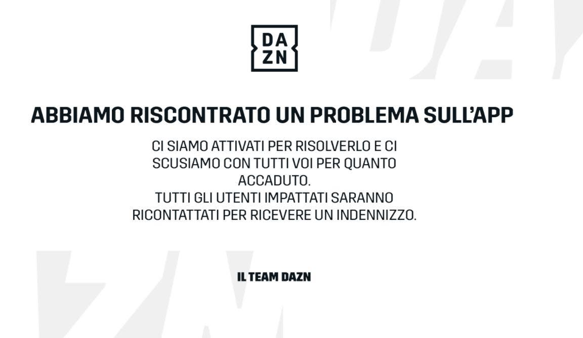 Dazn down