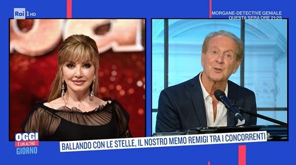 Milly Carlucci e Memo Remigi - Oggi è un altro Giorno