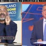 Zona Bianca, Gianluigi Paragone e Giuseppe Brindisi
