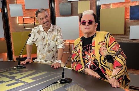 Gabriele Corsi e Cristiano Malgioglio