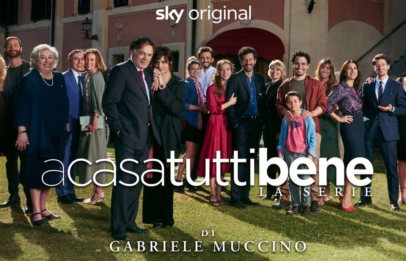 A casa tutti bene – La Serie: il nuovo «viaggio emozionale» di Muccino arriva su Sky