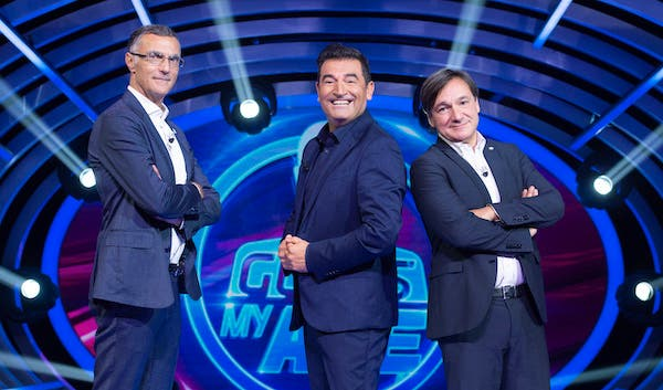 Beppe Bergomi, Max Giusti e Fabio Caressa