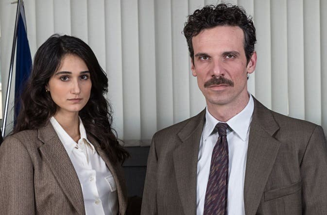 Il Cacciatore 3 - Linda Caridi e Francesco Montanari