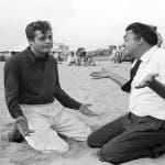 Mastroianni e Fellini - La dolce vita