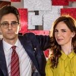 Valerio Lundini ed Emanuela Fanelli