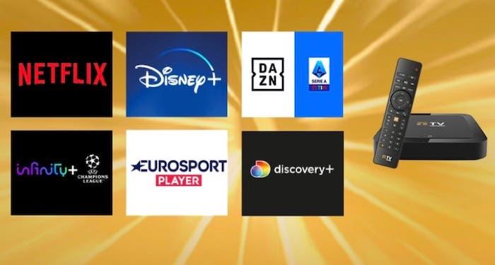 TIMVISION, offerta Gold: con 29,99 euro al mese inclusi DAZN, Disney+, Netflix, Infinity+, Discovery+ e Eurosport
