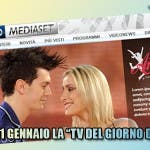 La tv del giorno dopo Mediaset catch up tv dal 11 gennaio 2009