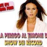 Paola Perego (Show dei Record, Guinness World Record)