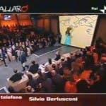 Ballarò, intervento di Silvio Berlusconi