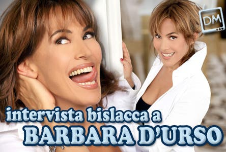 Barbara D'Urso intervista (Domenica Cinque)