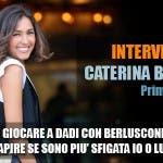 Caterina Balivo, Intervista