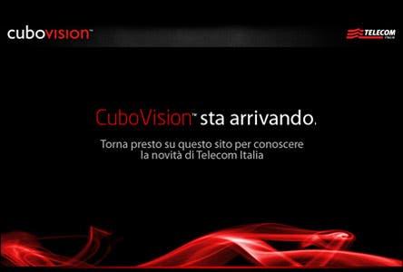 Cubo, decoder unico Telecom Italia