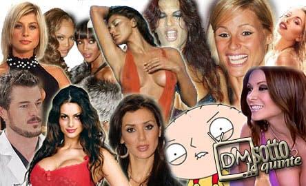 DM Sotto le Quinte (Naomi Campbell, Pamela Prati, Valeria Marini, Belen Rodrigez, Cristina del Basso, Tyra Banks)