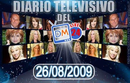 DM Live24: 26 agosto 2009
