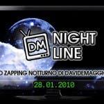 DM Night Line, programmazione notturna 28 gennaio 2010