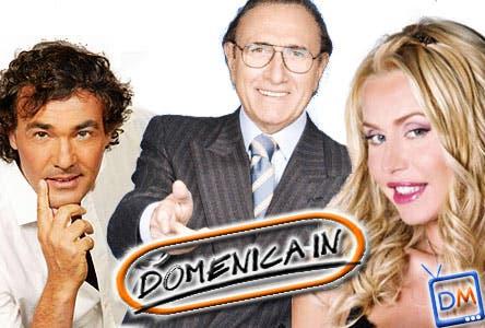 Domenica In (Massimo Giletti, Pippo Baudo, Valeria Marini)