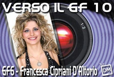 VERSO IL GF 10 INTERVISTA A FRANCESCA CIPRIANI
