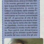 Irene Pivetti su Gabriele Belli, Sorrisi
