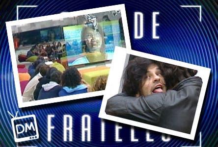 GRANDE FRATELLO 10 VIDEOMESSAGGIO DANIELA MAURO BISEX COTTA GEORGE