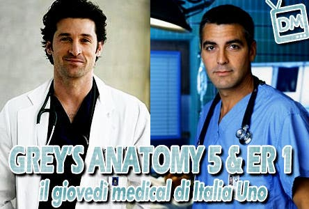 Grey's Anatomy e ER (Serata Medical Italia1)