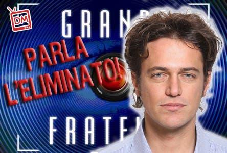 MATTIA MOR GRANDE FRATELLO 10 INTERVISTA