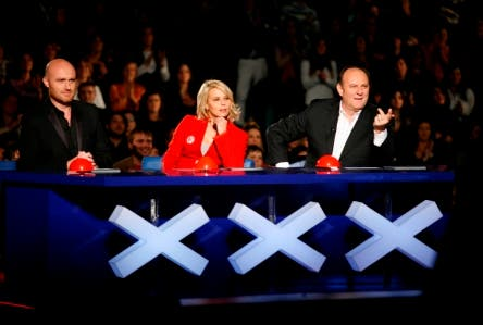 Italia's Got Talent (Maria De Filippi, Gerry Scotti e Rudy Zerbi)