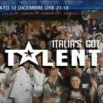Ascolti tv sabato 12 dicembre (Italia's got talent)