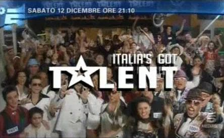 Ascolti tv sabato 12 dicembre (Italia's got talent)