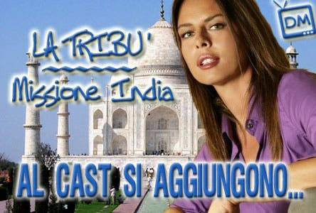 La Tribù Missione India Cast Concorrenti