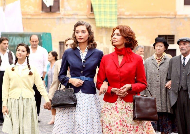 La Mia Casa è Piena di Specchi: Sophia Loren e Margareth Madè