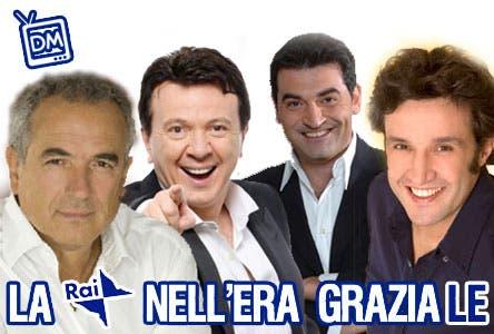 La Rai nell'Era Graziale (Lamberto Sposini, Pupo, Max Giusti, Flavio Insinna)