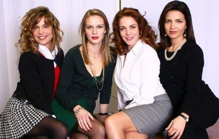 Le Segretarie del Sesto (Micaela Ramazzotti, Antonio Liskova, Claudia Gerini e Tosca D'Aquino)