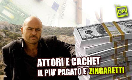 Luca Zingaretti - cachet