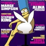 Marge Simpson nude (Playboy)
