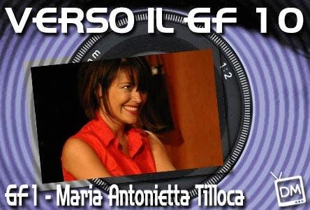 Maria Antonietta Tilloca Grande Fratello
