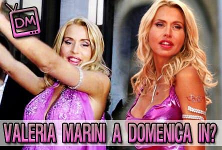 Valeria Marini - Domenica In