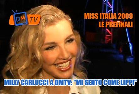 Miss Italia 2009, prefinali. Milly Carlucci