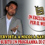 Nicola Savino - Matricole e Meteore (intervista)