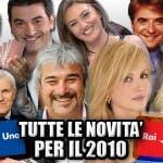 Novità 2010 RAI