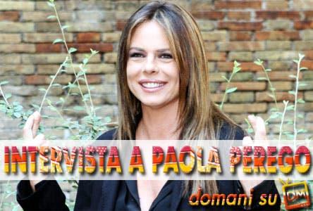 Paola Perego, intervista