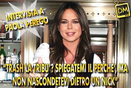 Paola Perego (intervista)