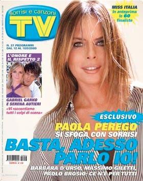 Paola Perego (TV Sorrisi e Canzoni)