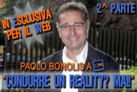 Paolo Bonolis (intervista esclusiva)
