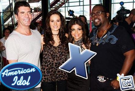 Paula Abdul lascia American Idol