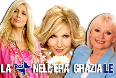 La Rai nell'Era Graziale (Mara Venier, Raffaella Carrà e Lorella Cuccarini)