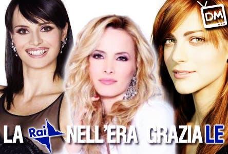 La Rai nell'Era Graziale (Lorena Bianchetti, Lorella Landi, Miriam Leone)