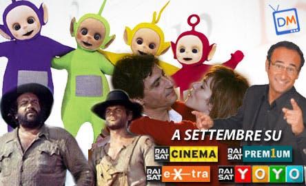 Settembre sui canali RaiSat