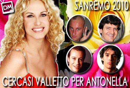 Sanremo 2010 (Antonella Clerici, Dj Francesco, Fabio De Luigi, Stefano Accorsi, Luca Argentero)